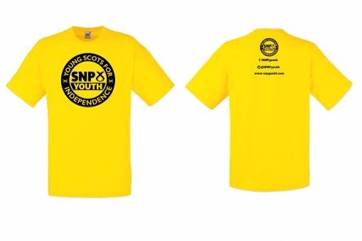 Image of SNP Youth T-Shirt [Yellow]
