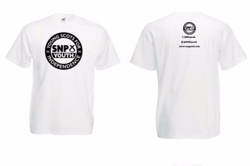 Image of SNP Youth T-Shirt [White]