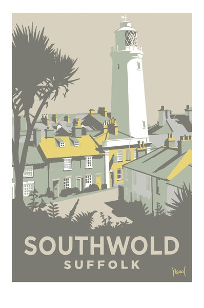 Image of Southwold Lighthouse/Sole Bay Inn 2; Yellow; Steve Read
