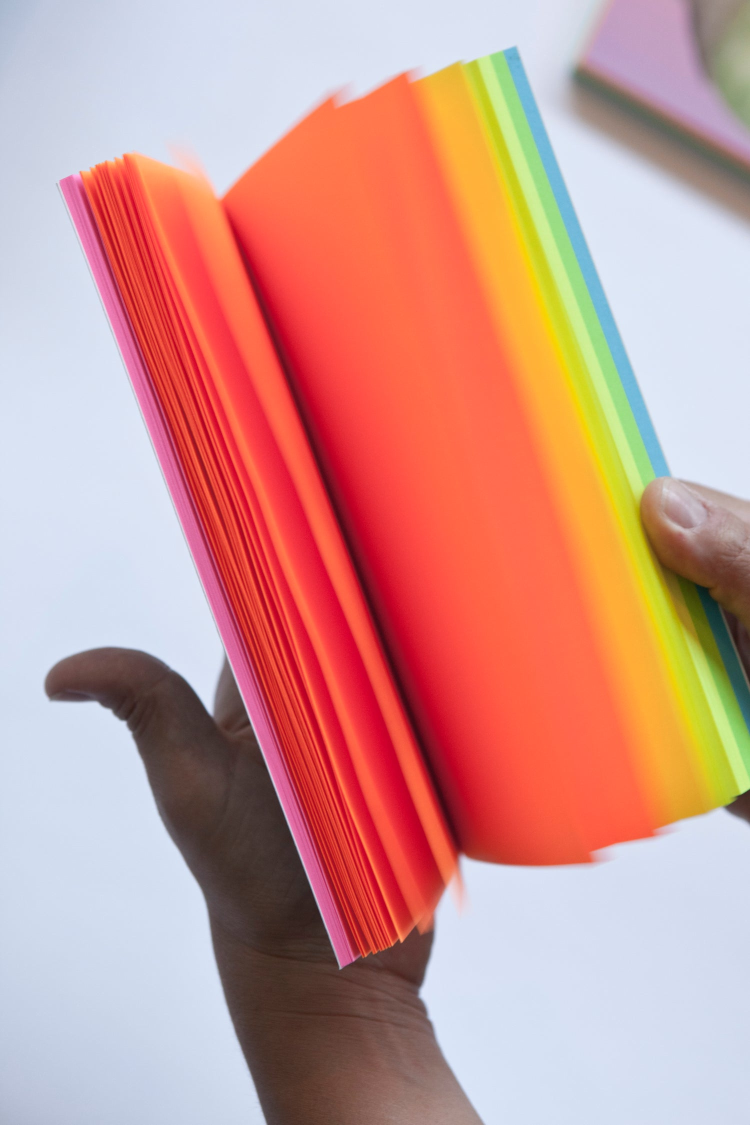 Image of Share Your Fruit (with rainbow paper) Notebook
