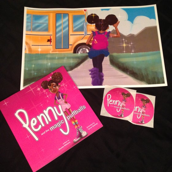 Image of Penny Book and FREE 8x10 print