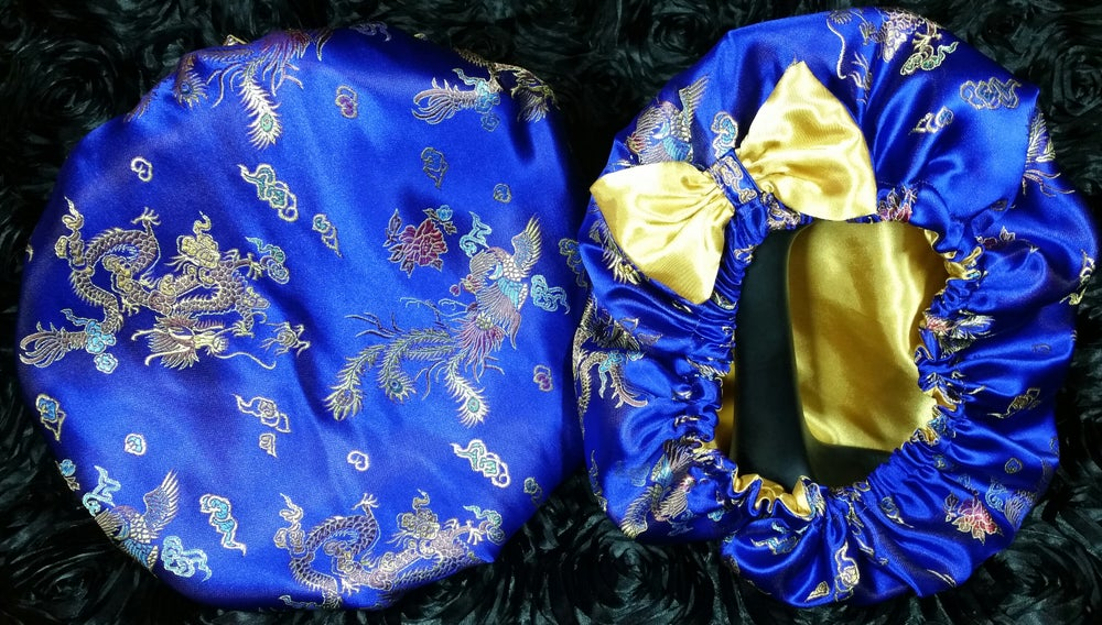 Image of Empress blue/ gold