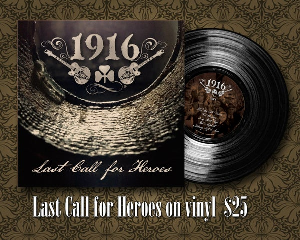 Image of Last Call for Heroes Vinyl