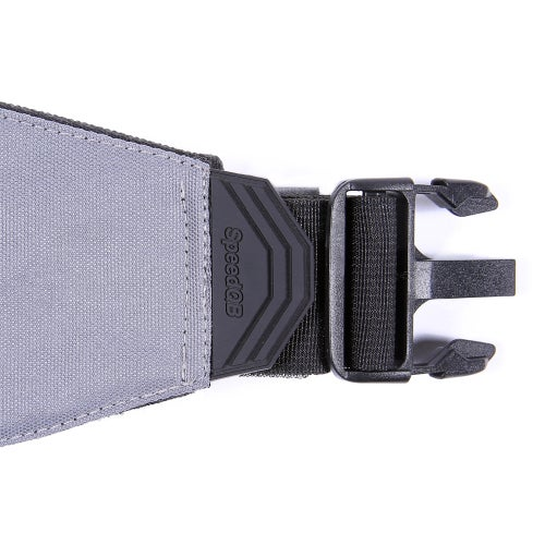 Image of SpeedQB Molle-Cule™ Belt System (MBS) - Smoke Grey
