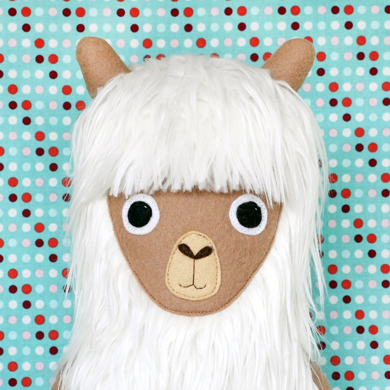 Image of Rosie the Alpaca