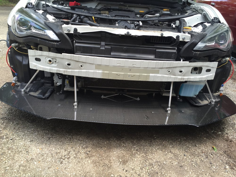 Image of FRS/BRZ front air splitter