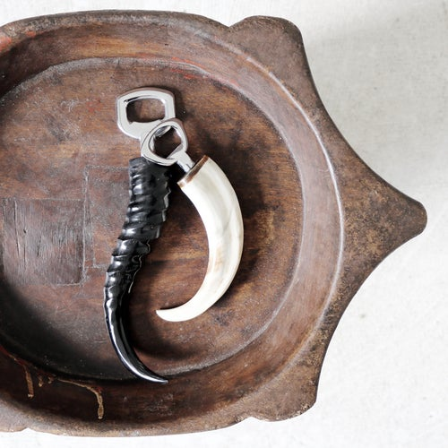 Image of Springbok Horn Bottle Opener