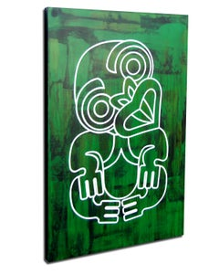 Image of Mr Tiki green tones