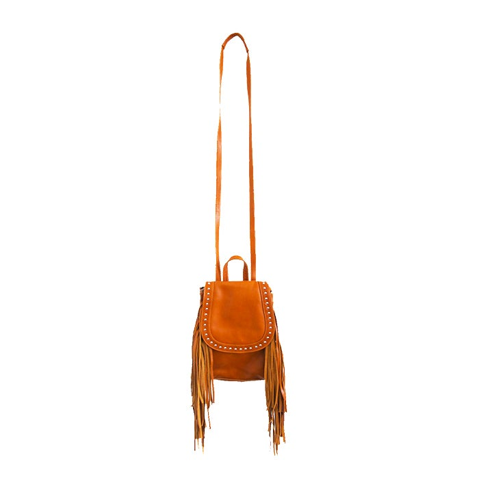 Image of LUELA LEATHER BACKPACK