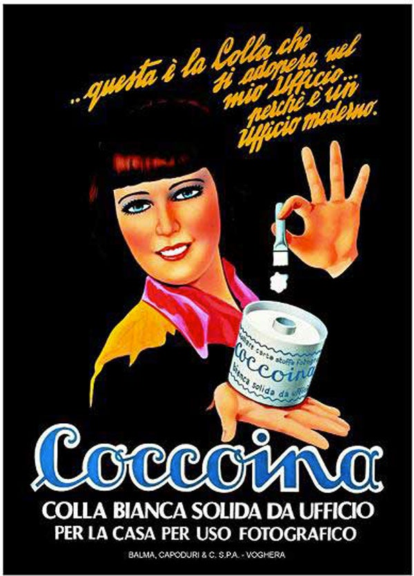 Image of COCCOINA / ALMOND SCENTED GLUE COCCOINA