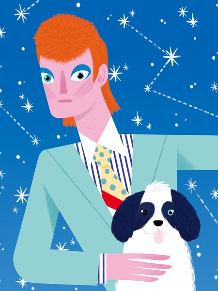 Image of David Bowie & Max