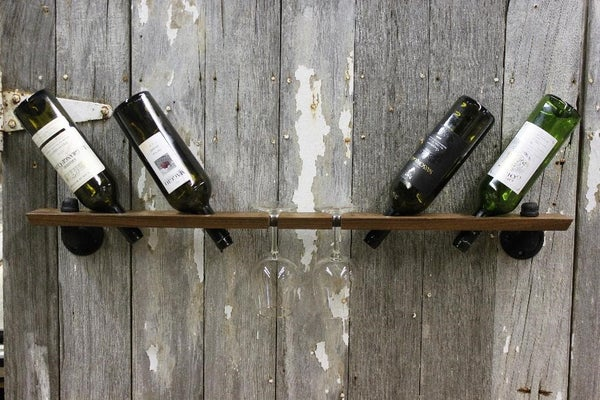Image of Wine Essentials4 Floating Shelf