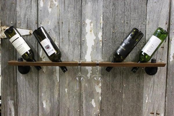 Image of Wine Essentials4 Floating Shelf