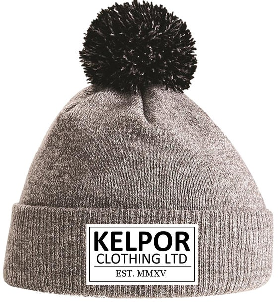 Image of Heather Grey Kelpor Bobble Beanie