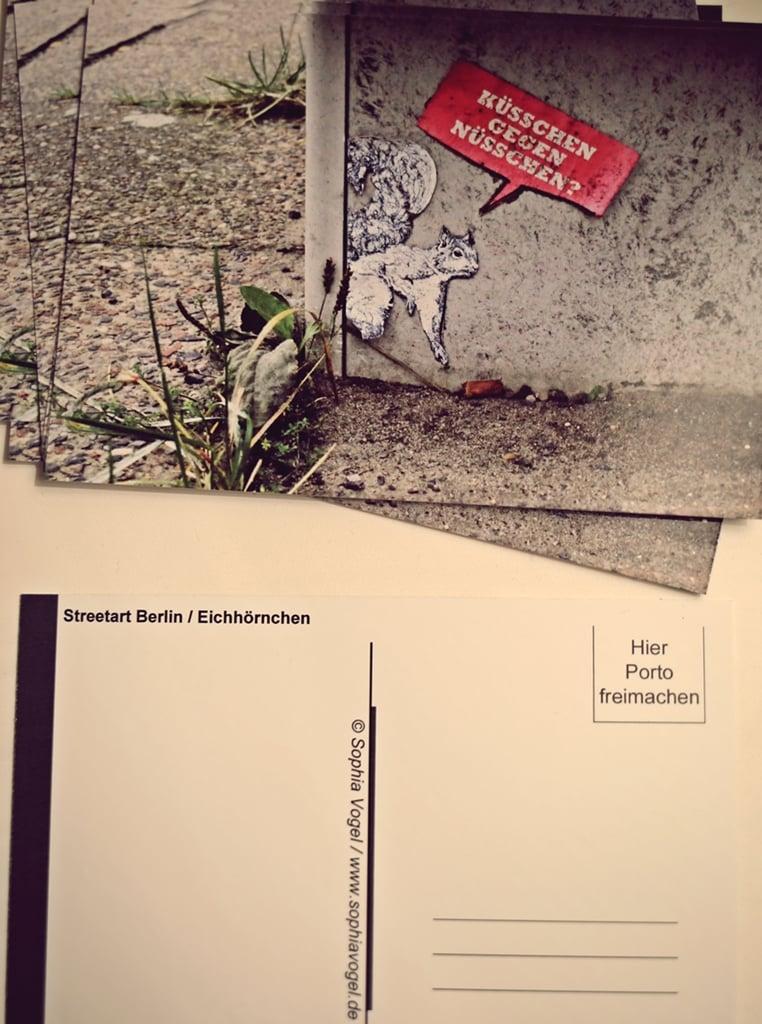Image of Postkarte Eichhörnchen