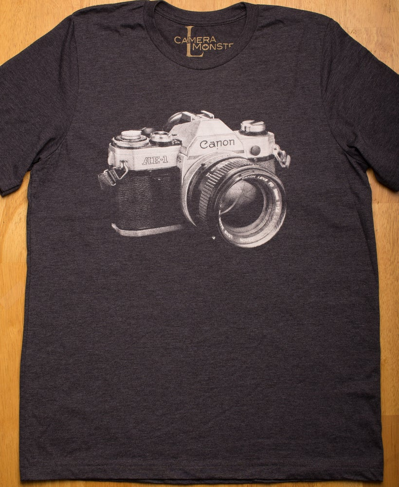 Image of Canon AE1 Graphic Tee
