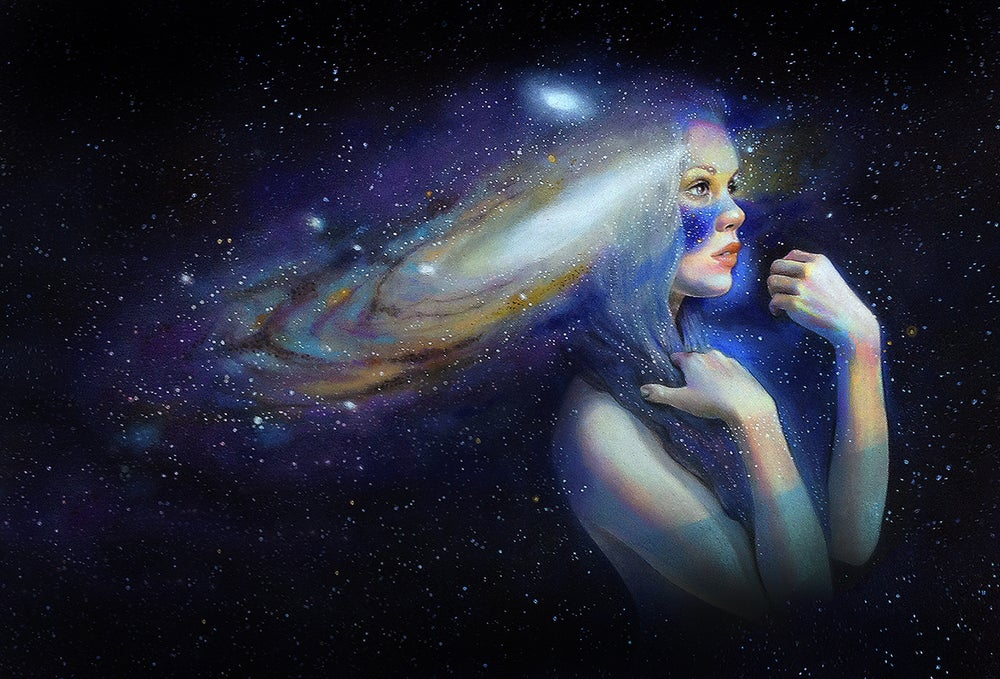 "Image of ""Andromeda"" Limited Edition Print"