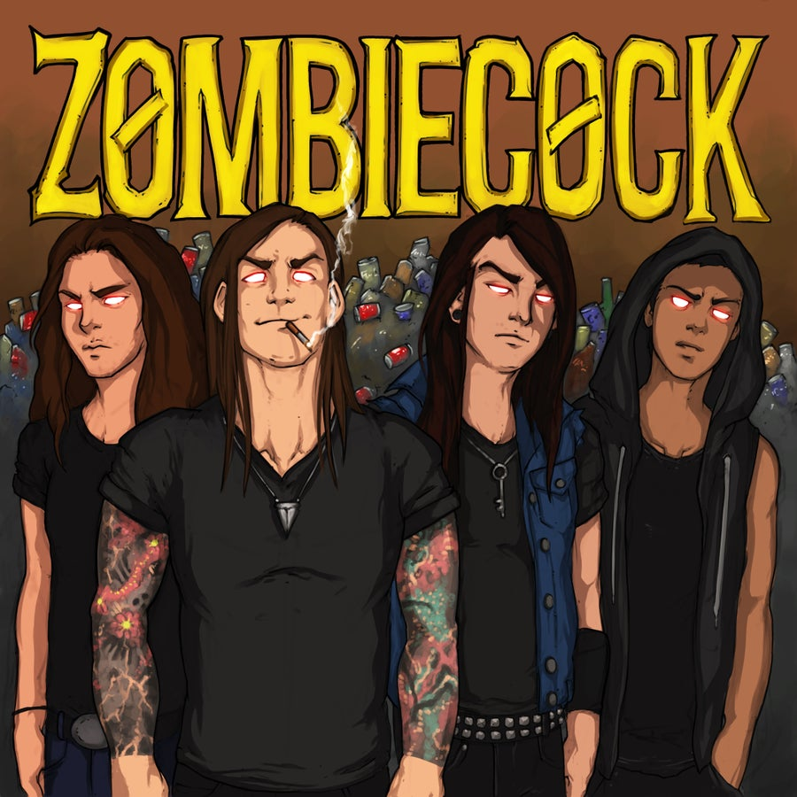 Image of Zombiecock self titled album CD