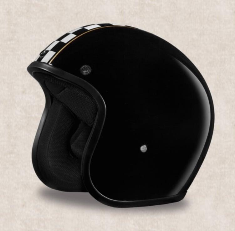 Image of 3/4 DOT Daytona Helmets (Graffiti, Pinned & Graphic Styles)