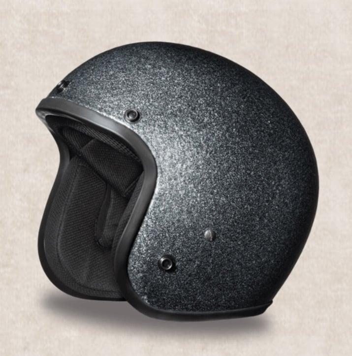 Image of 3/4 DOT Daytona Helmets (Metal Flake Styles)