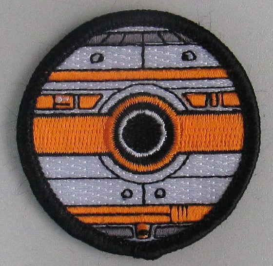 "Image of BB-8 Pokeball Style 2"" Patrol Patch"