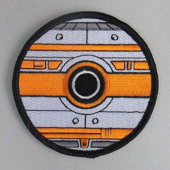 "Image of BB-8 Pokeball Style / Star Wars 3"" Patch"
