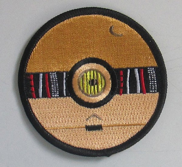 "Image of C-3PO Pokeball Style 2"" Patrol Patch"