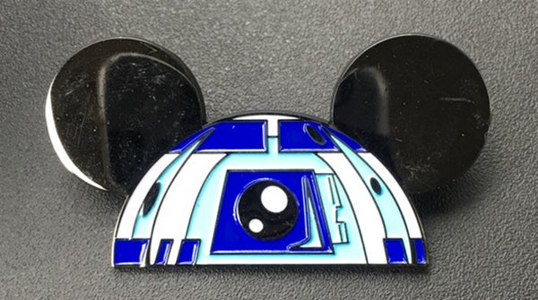 """Image of R2 Ears 2"""" wide lapel pin"""