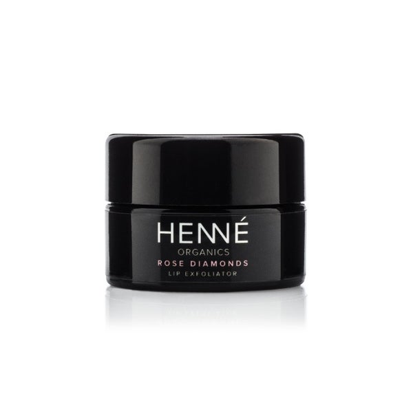 Image of Henne Organics Rose Diamond Lip Exfoliator