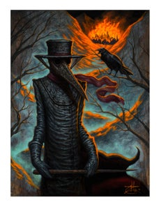 "Image of ""The Plague Doctor"" Limited Edition Print"