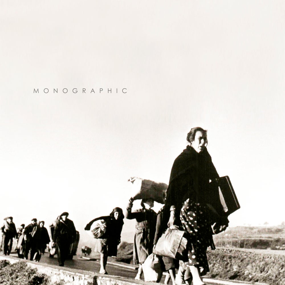 "Image of M O N O G R A P H I C ""S/T"" 12"" Gatefold LP. White Vinyl 180gr"