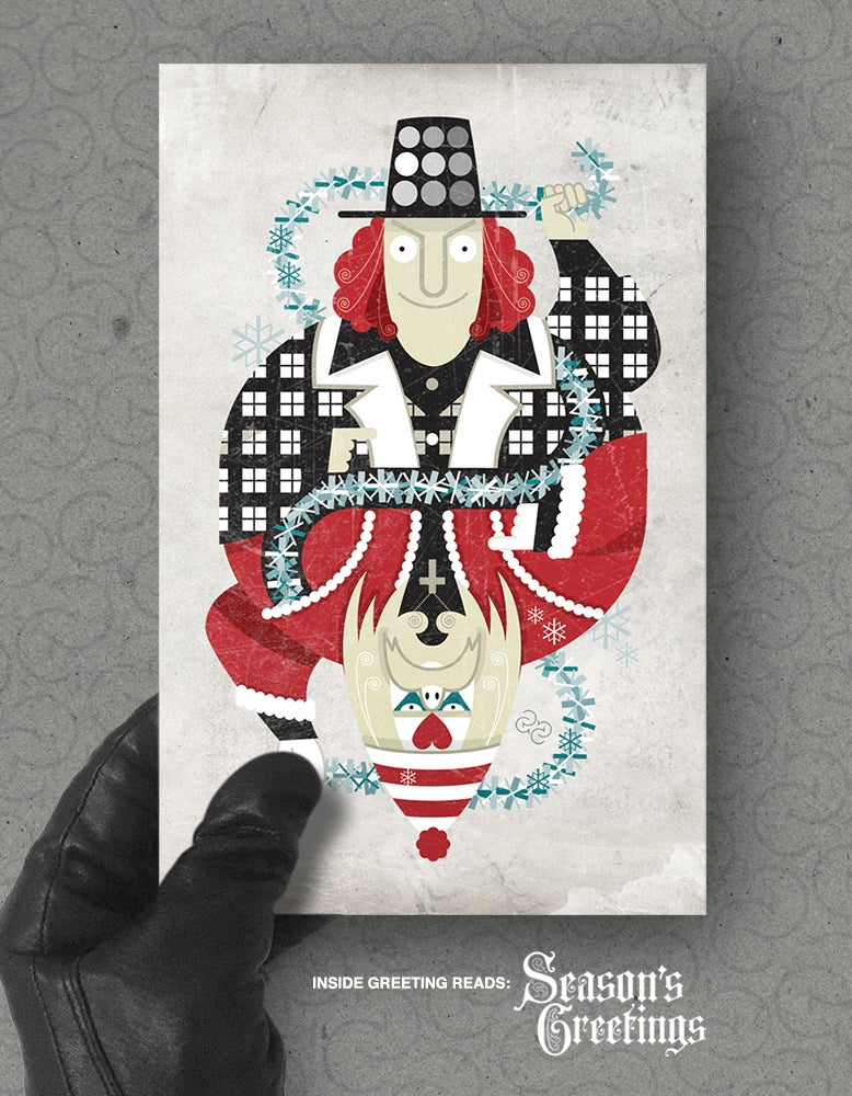 Image of Xmas card pack: 'MCMLXXIII'
