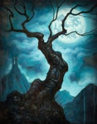 "Image of ""Tree Of Death""- Canvas Giclee 11x14"""