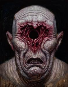 "Image of ""Heartbroken"" Canvas Giclee 11x14"""