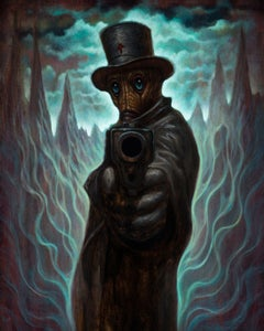 "Image of ""Gunpoint"" Limited Edition Canvas Giclee- 16x20"""
