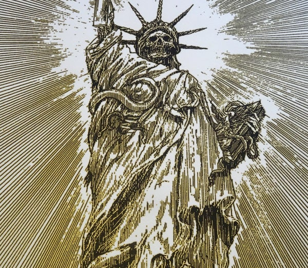 Image of Statue Of Abomination limited handprint