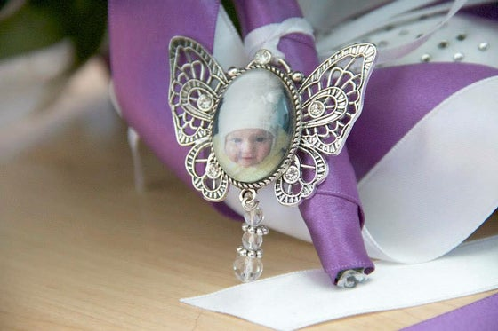 Image of Butterfly bouquet pendant