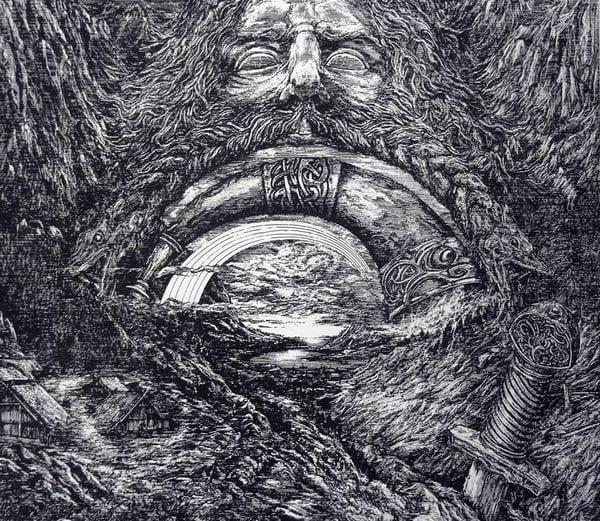 Image of Enslaved 'Heimdallr' limited handprint