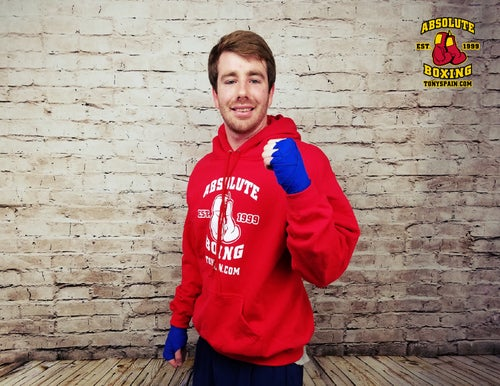 Image of Absolute Boxing Hoodie (White or Red)