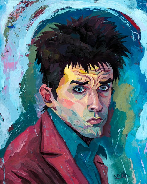 Image of Derek Original Painting - Zoolander