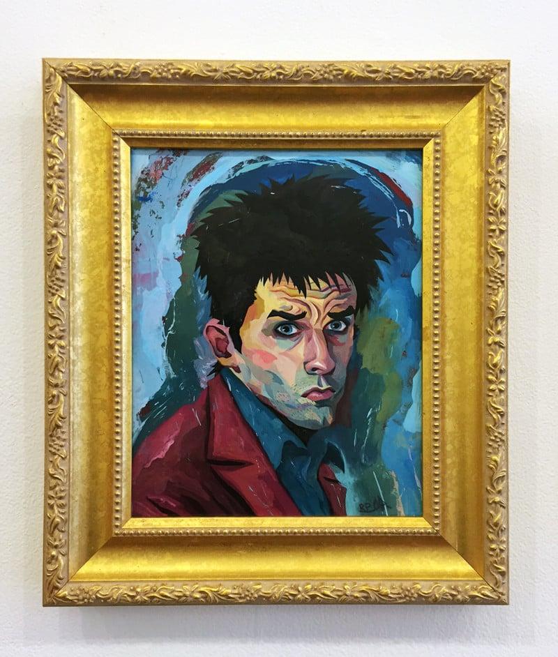 Image of Derek Original Painting - Zoolander