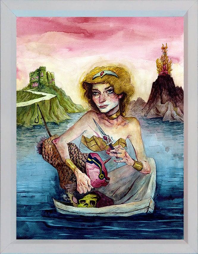 Image of She-Ra Original Painting