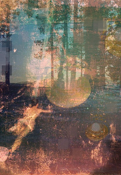 Image of WaterImpressionism - Waving the Forest