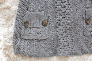 Image of Grey Free People Sweater Dress