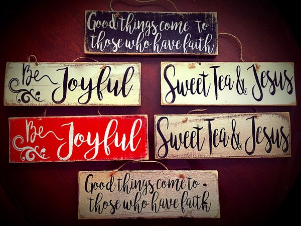 Image of Reclaimed Wood Signs