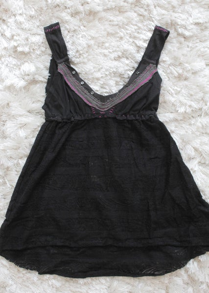 Image of Free People Tie Back Tank