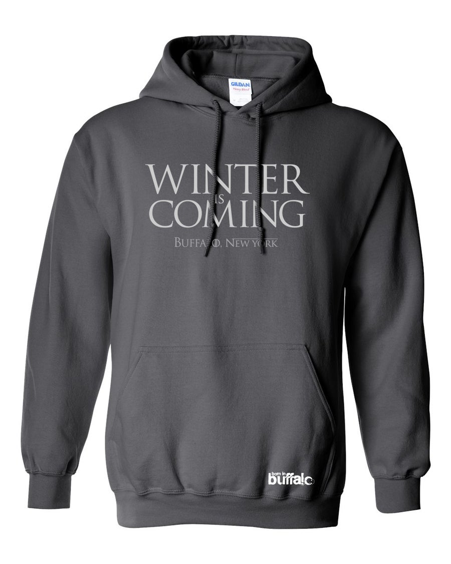 Image of Winter Is Coming Hooded Sweatshirt