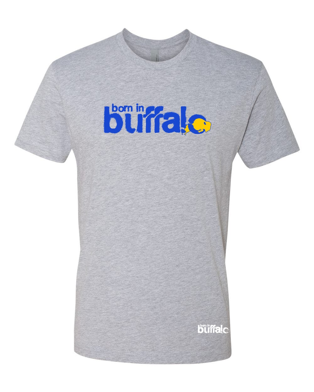 Image of Born In Buffalo (Blue & Gold)