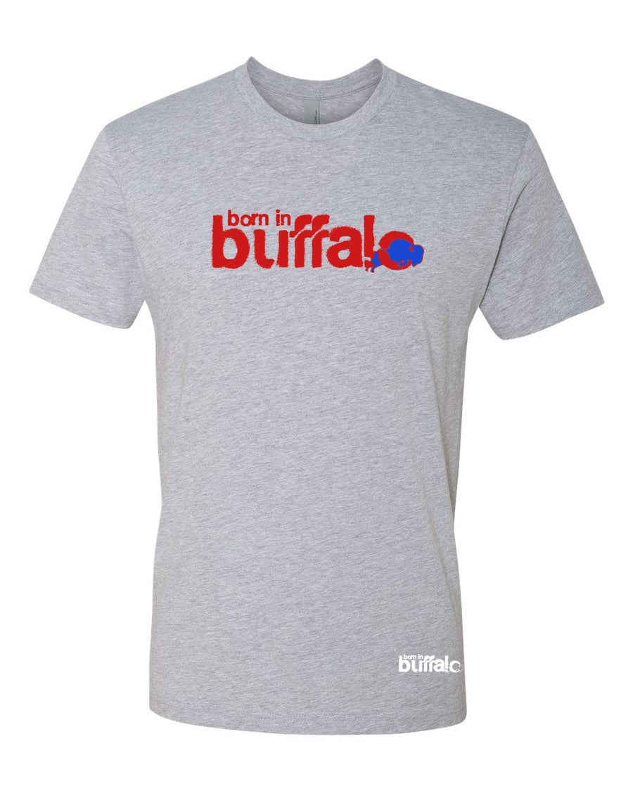 Image of Born In Buffalo (Red & Blue)
