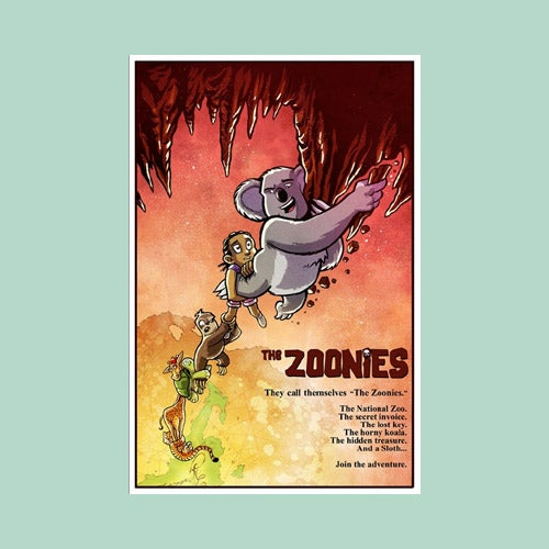 Image of THE ZOONIES! - a downloadable .pdf